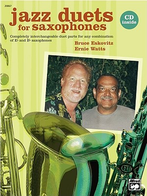 Jazz Duets for Saxophones By Eskovitz, Bruce/ Watts, Ernie